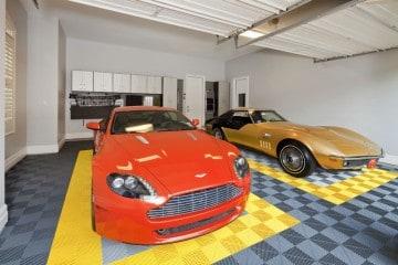 Sol pour garage