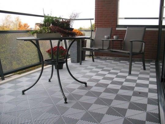 sol pour terrasse