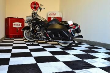 dalle de sol pour garage moto