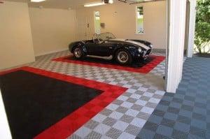 Revêtement de sol pour garage