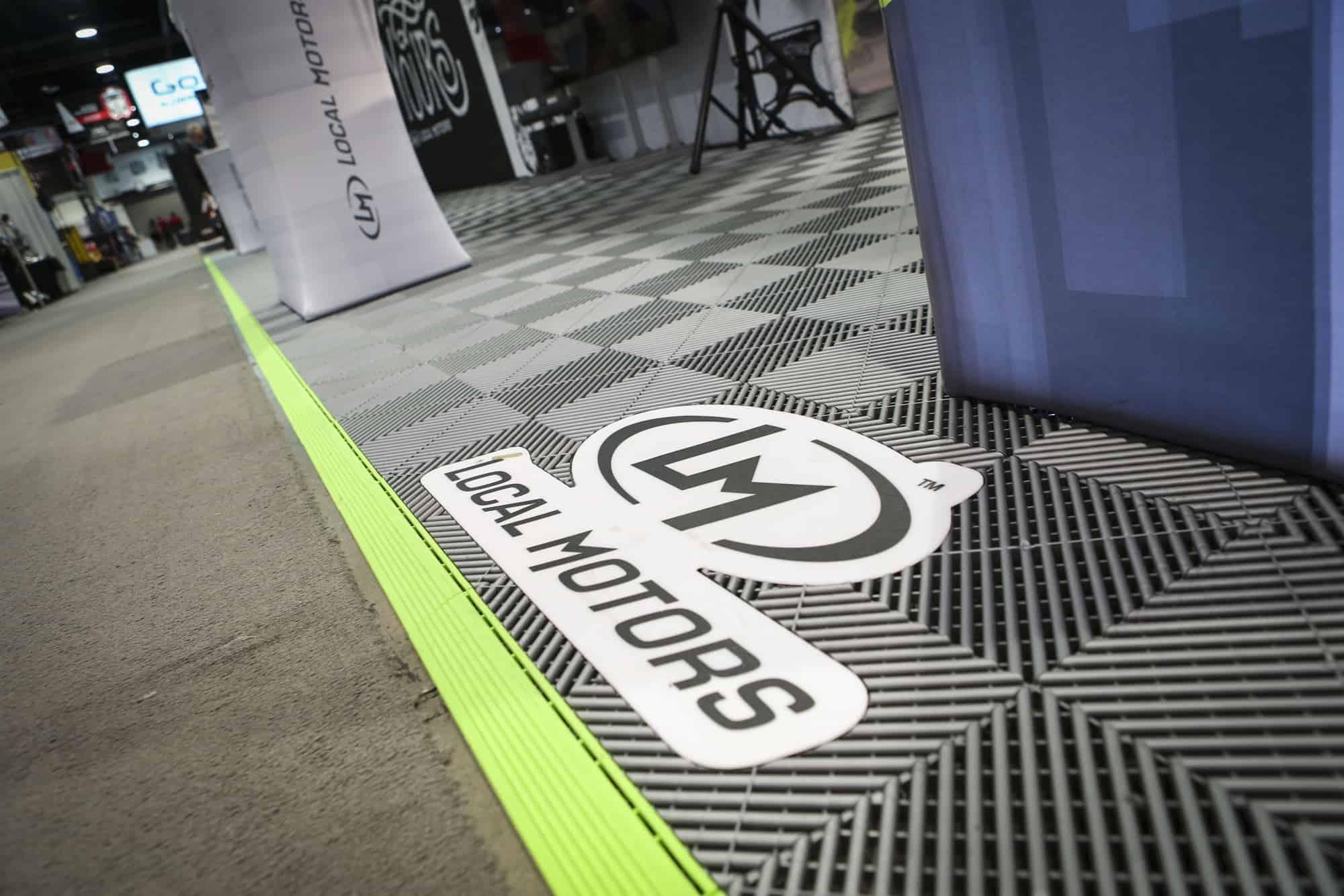 Insertion de votre logo sur le sol