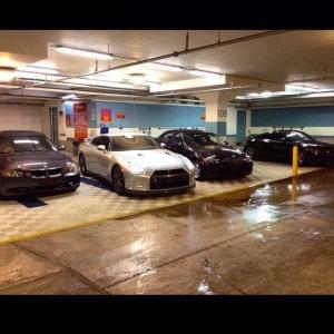 dalle de sol lavage automobile