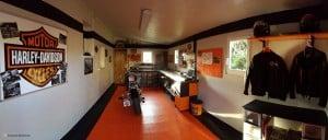 Un sol de garage pour votre harley davidson