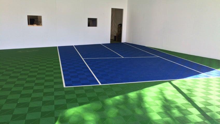 dalle de sol pour terrain de sport polyvalent et eph m re. Black Bedroom Furniture Sets. Home Design Ideas