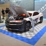 sol pour exposition automobile
