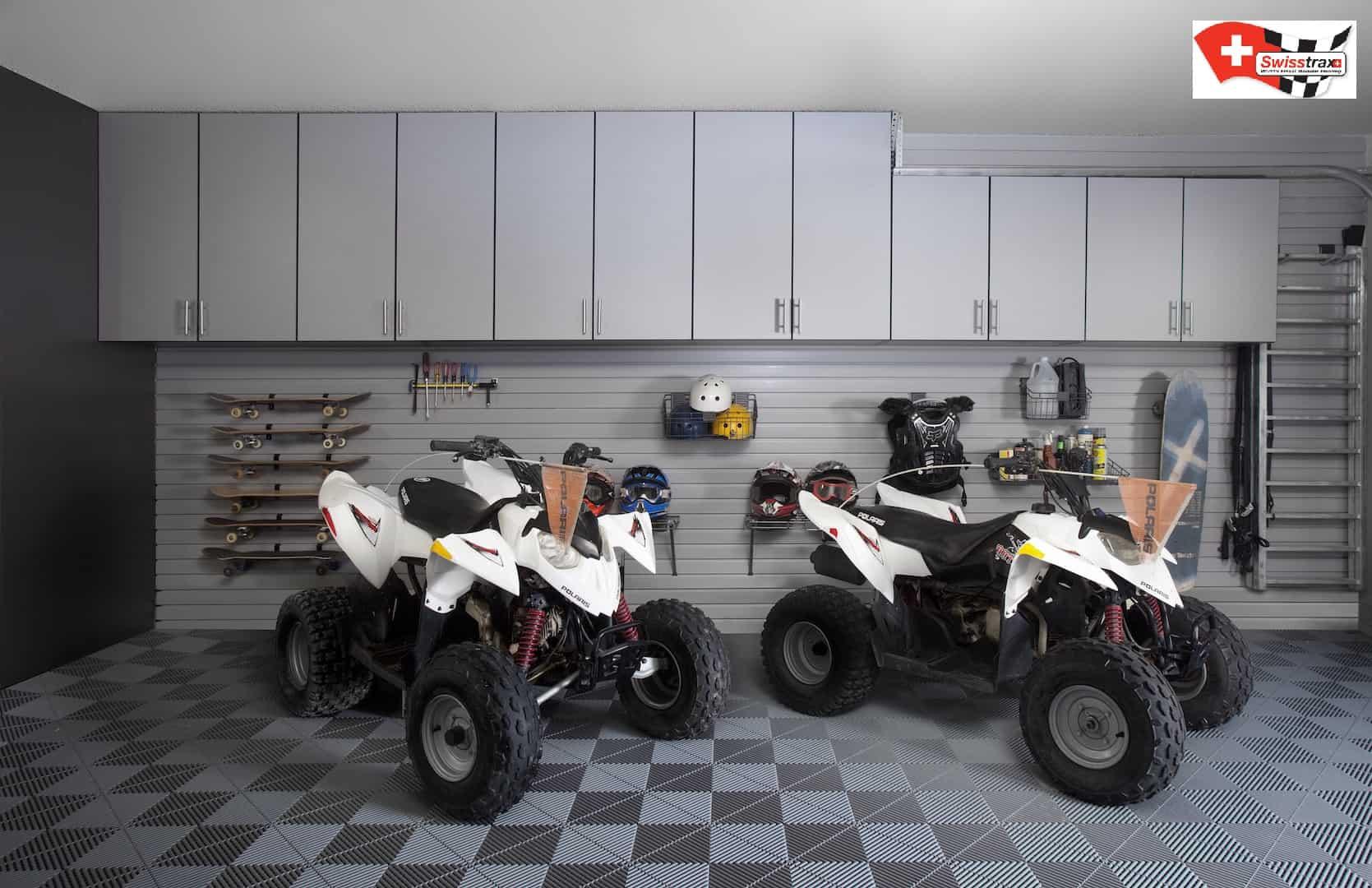 dalle de sol pour moto garage showroom paddock. Black Bedroom Furniture Sets. Home Design Ideas
