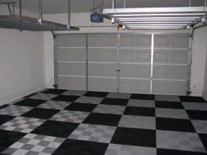 sol de garage