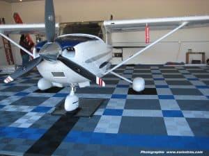 dalle de sol pour hangar avion