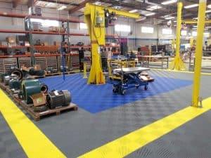 sol pour bâtiment industriel
