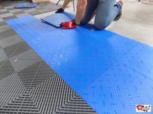 installation de vos dalles de sol pour cave