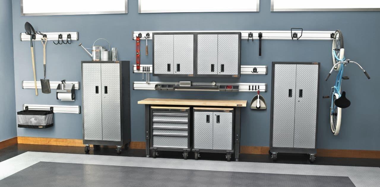 rangement pour garage 123dalle dalles de sol clipsables swisstrax. Black Bedroom Furniture Sets. Home Design Ideas