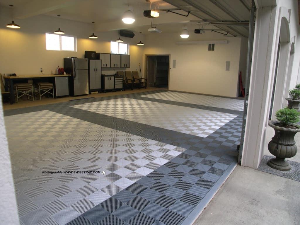 Dalle de sol pour garage particuliers et professionels for Peinture de sol pour garage