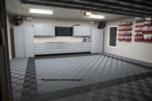 revêtement sol garage