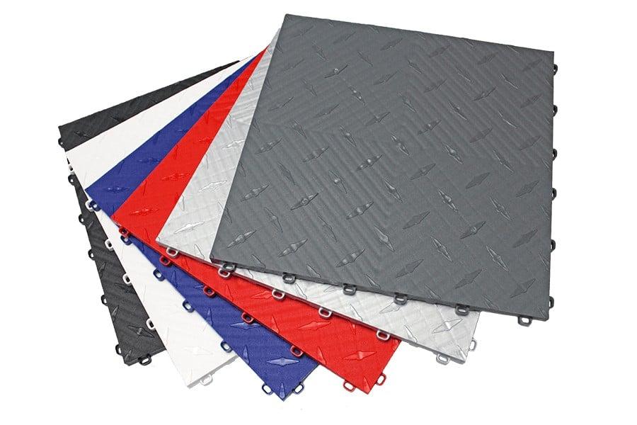 sol plastique pour garage