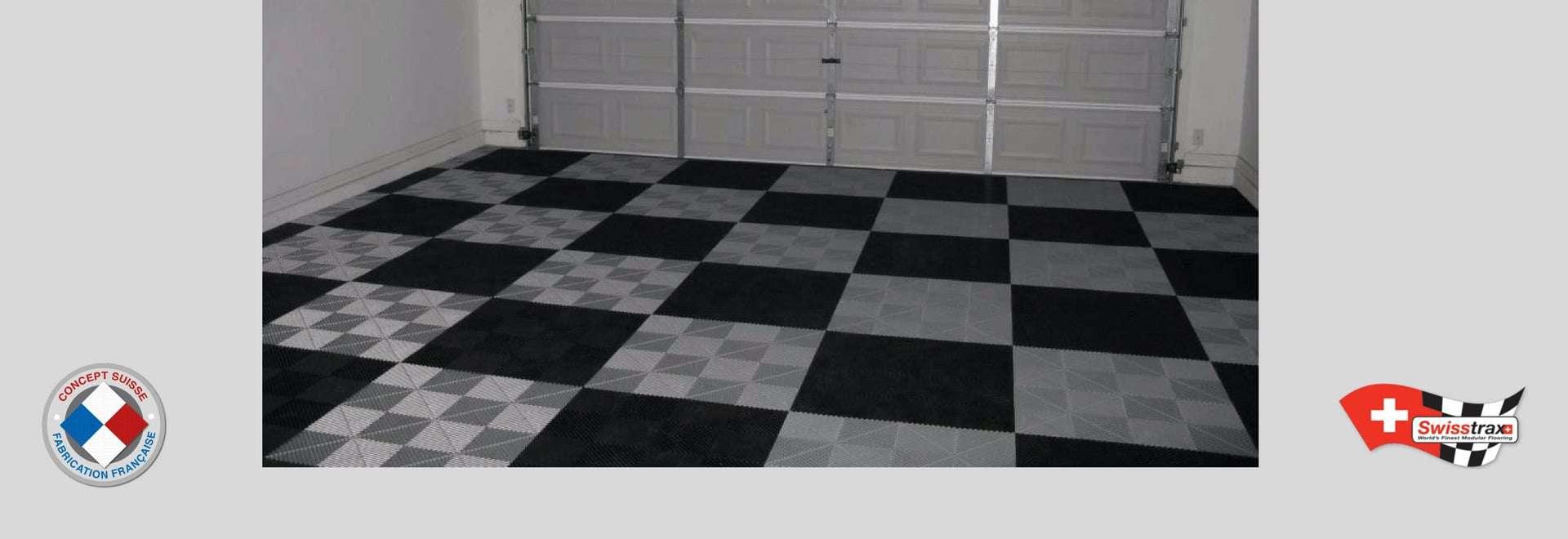 dalles de sol clipsables dalles pour garage sol modulable. Black Bedroom Furniture Sets. Home Design Ideas