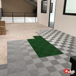 revêtement de sol pour mezzanine