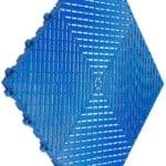 dalles de sol bleu