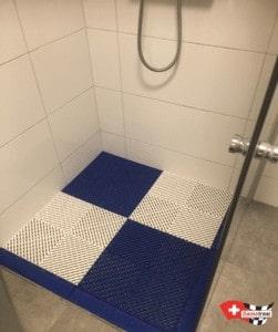 sol pour douche