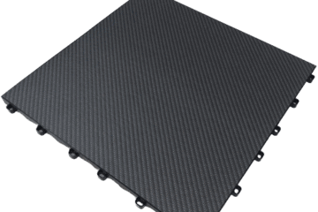 Dalle clipsable imitation carbone CARBONTRAX