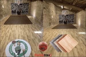 sol pour terrain de basket