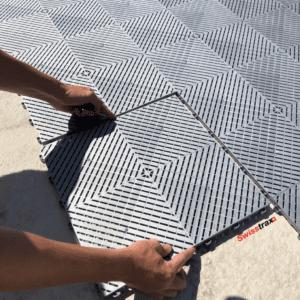 aménagement de contour de piscine