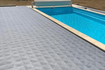 sol pour piscine