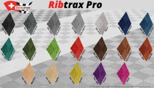 couleurs dalles ribtrax