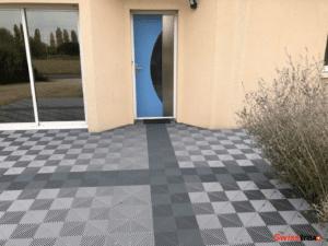sol clipsable pour terrasse